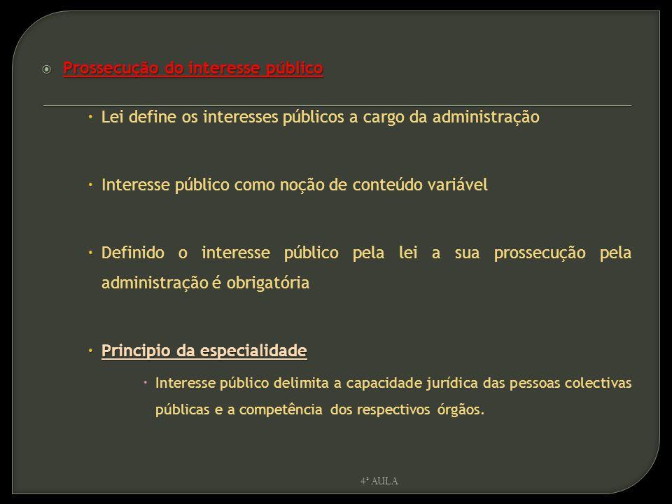 Prossecução do interesse público
