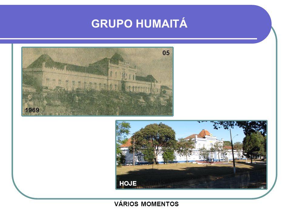 GRUPO HUMAITÁ 05 1969 HOJE VÁRIOS MOMENTOS