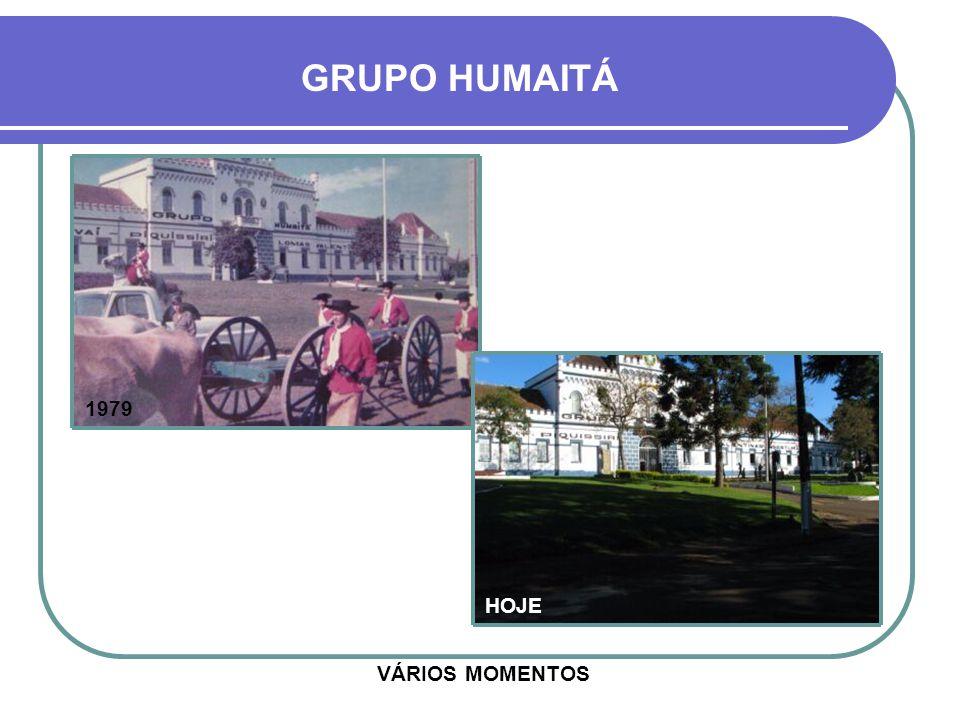 GRUPO HUMAITÁ 1979 HOJE VÁRIOS MOMENTOS
