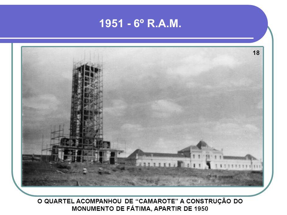 1951 - 6º R.A.M. 18.