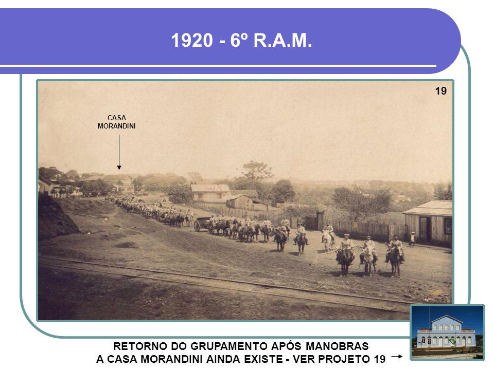 1920 - 6º R.A.M. 19. CASA MORANDINI.