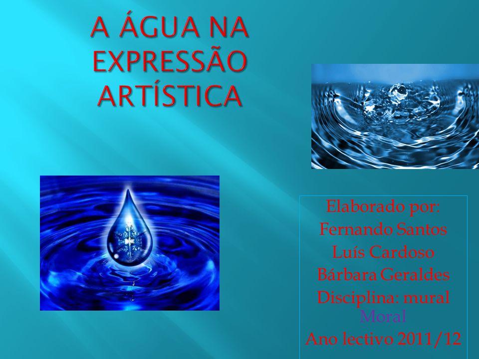 A água na expressão artística