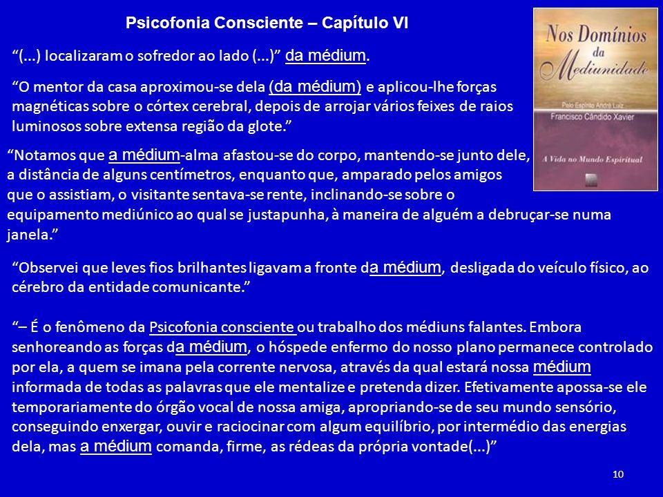 Psicofonia Consciente – Capítulo VI