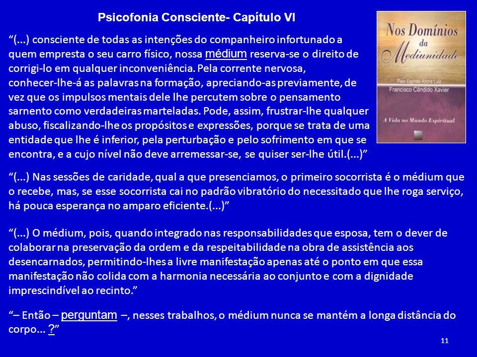 Psicofonia Consciente- Capítulo VI