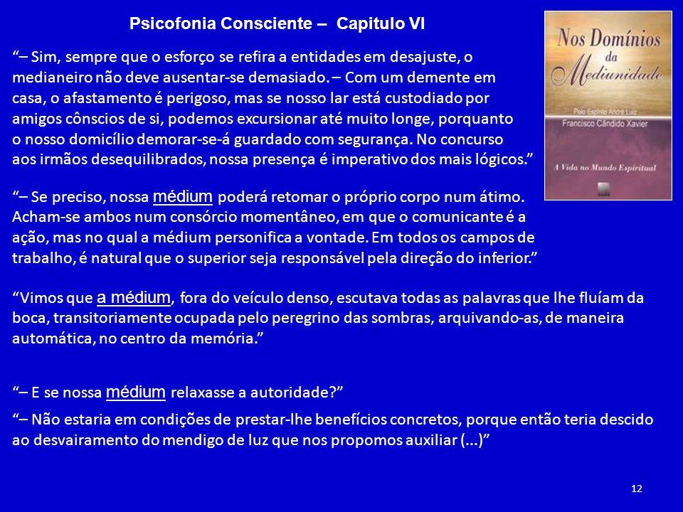 Psicofonia Consciente – Capitulo VI