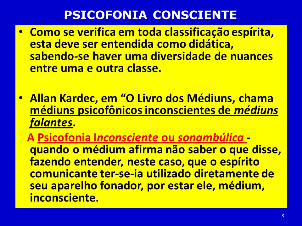 PSICOFONIA CONSCIENTE