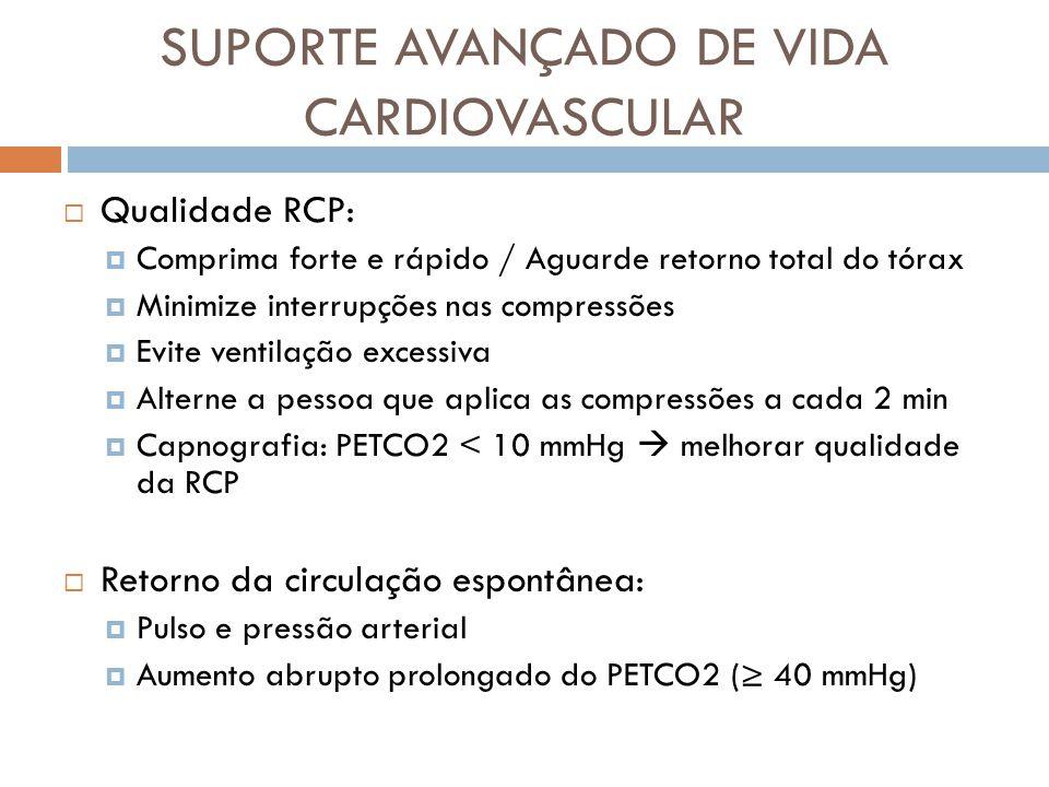 SUPORTE AVANÇADO DE VIDA CARDIOVASCULAR
