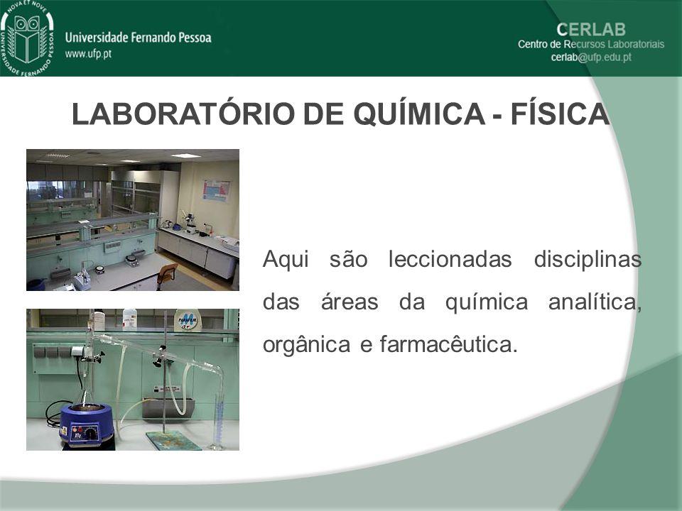 LABORATÓRIO DE QUÍMICA - FÍSICA