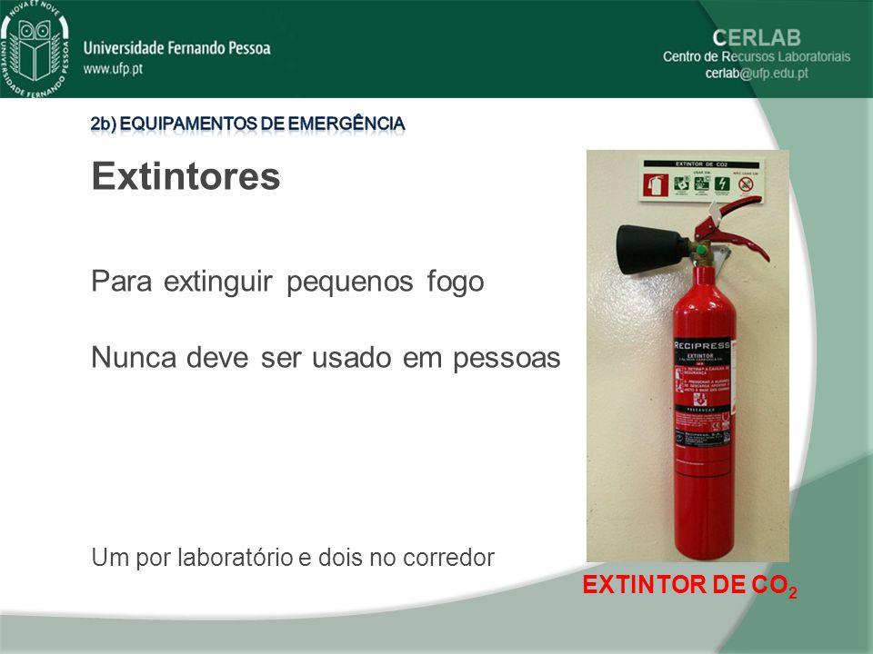 Extintores Para extinguir pequenos fogo