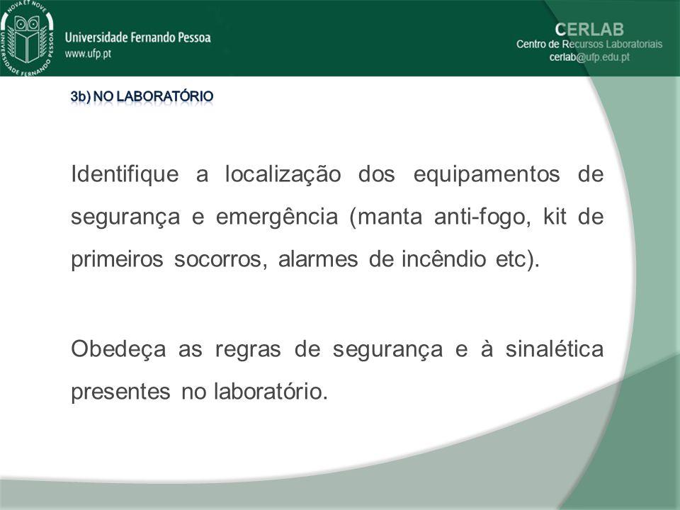 3b) No laboratório