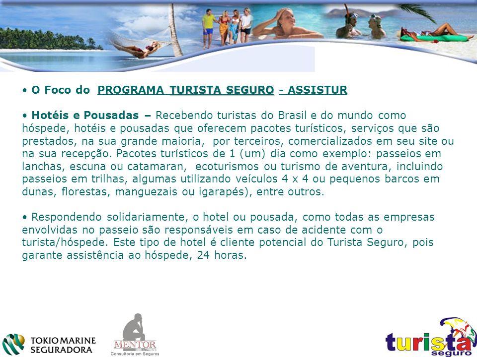 O Foco do PROGRAMA TURISTA SEGURO - ASSISTUR