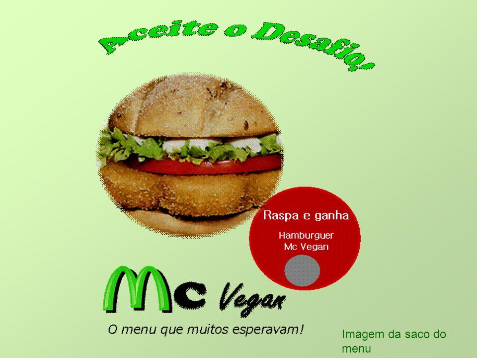 Imagem da saco do menu