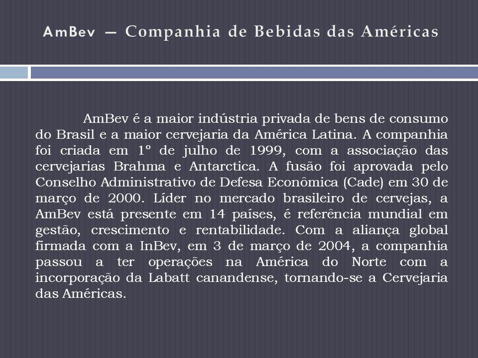 AmBev — Companhia de Bebidas das Américas