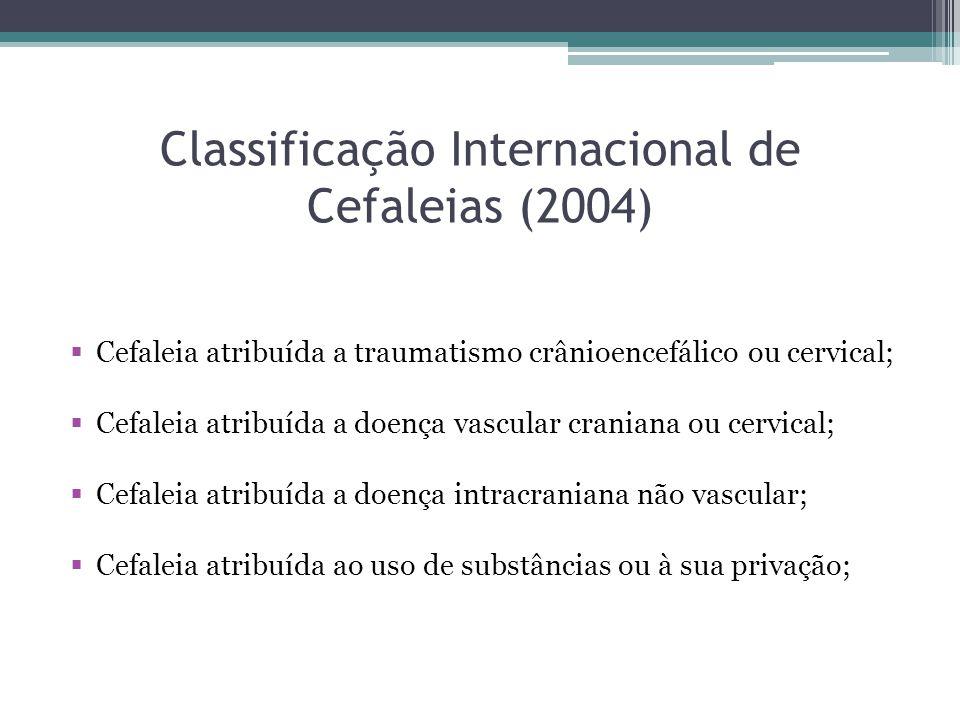 Classificação Internacional de Cefaleias (2004)