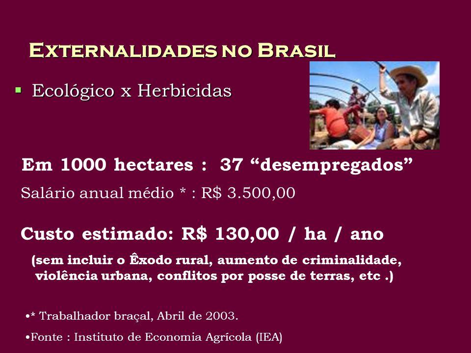 Externalidades no Brasil
