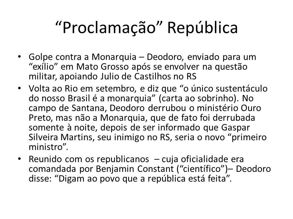 Proclamação República