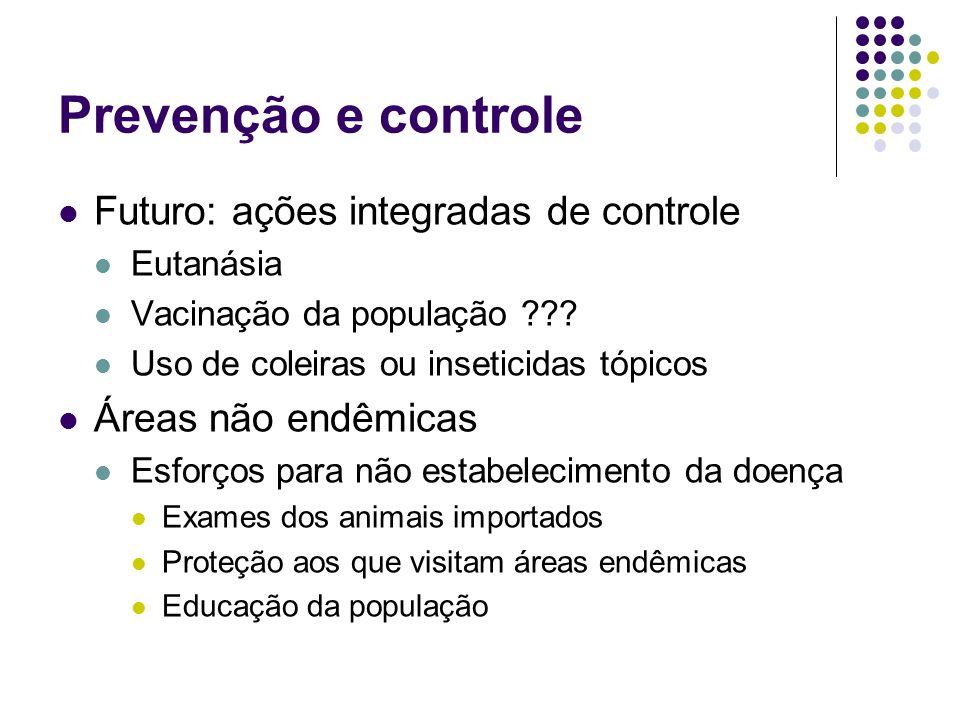 Prevenção e controle Futuro: ações integradas de controle