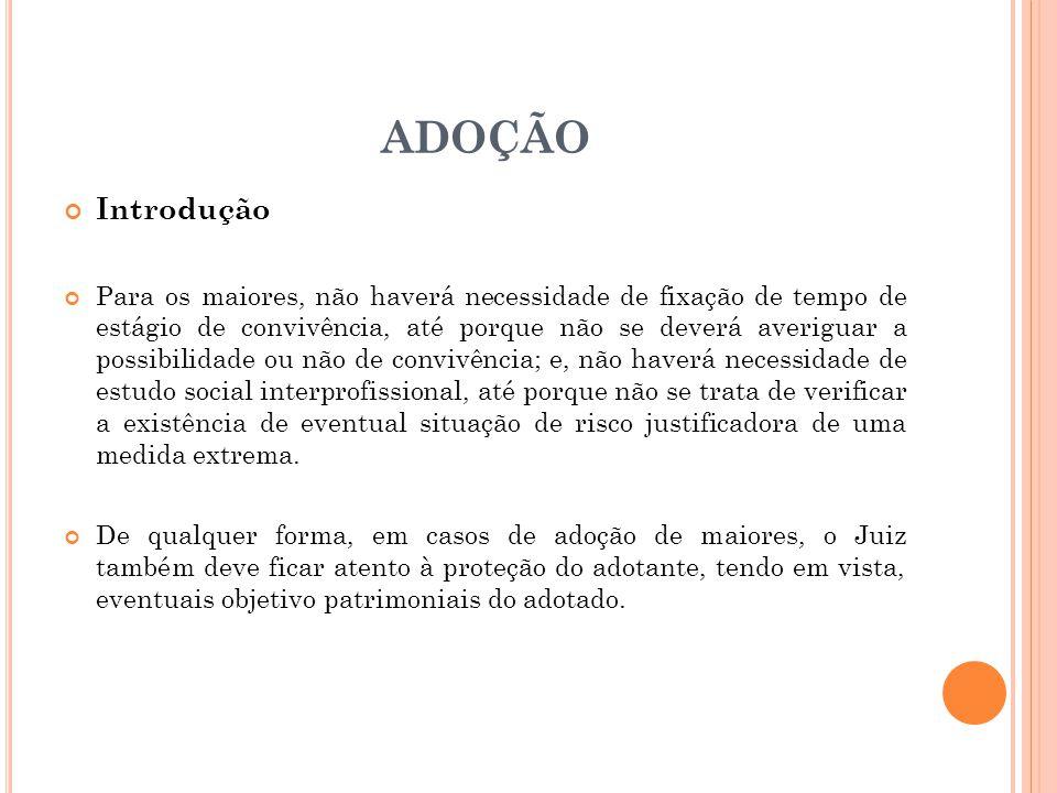 ADOÇÃO Introdução.