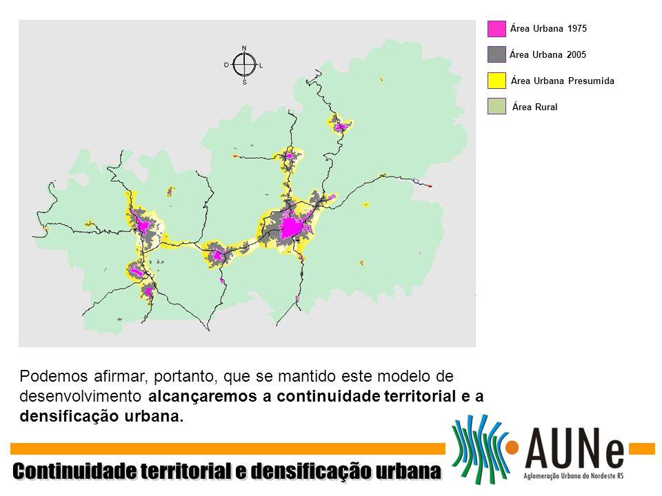 Continuidade territorial e densificação urbana