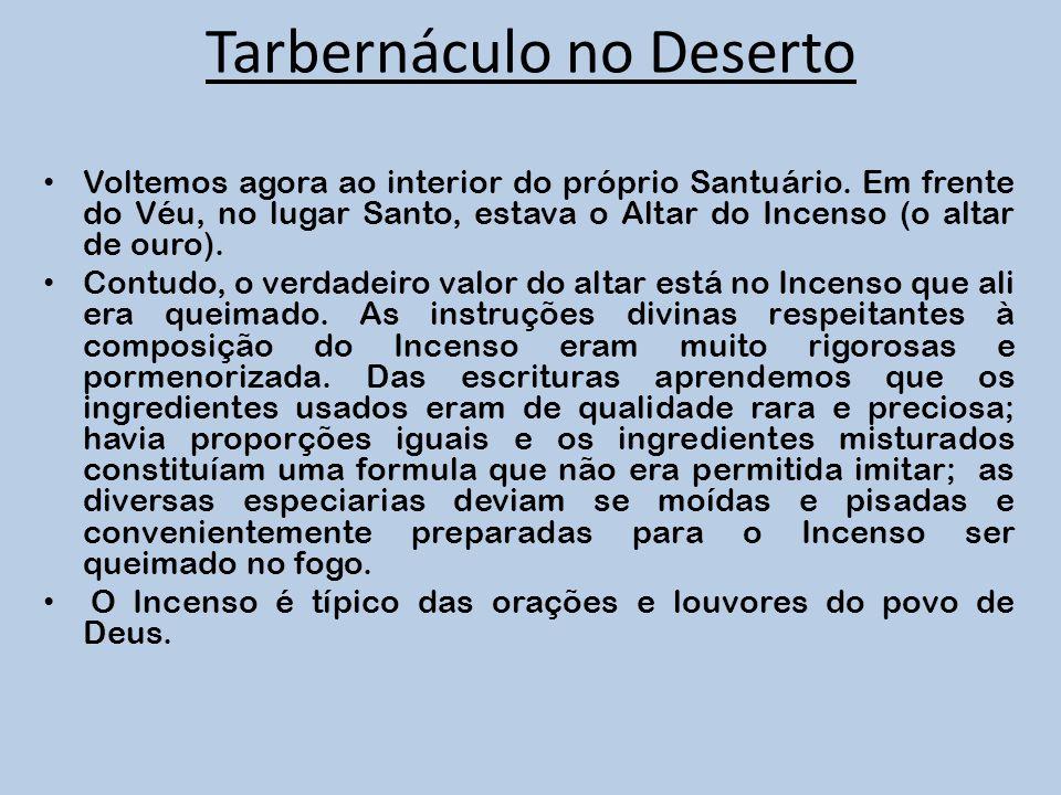 Tarbernáculo no Deserto