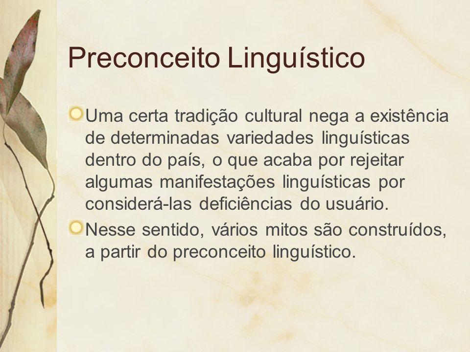 Preconceito Linguístico