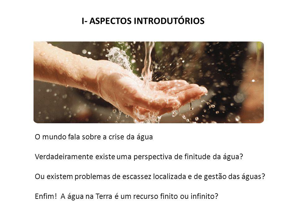 I- ASPECTOS INTRODUTÓRIOS
