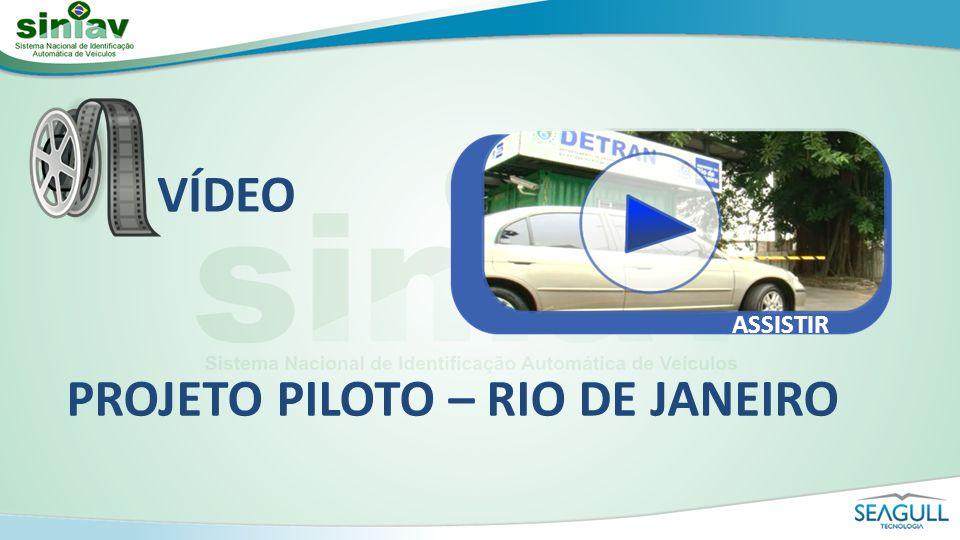 PROJETO PILOTO – RIO DE JANEIRO