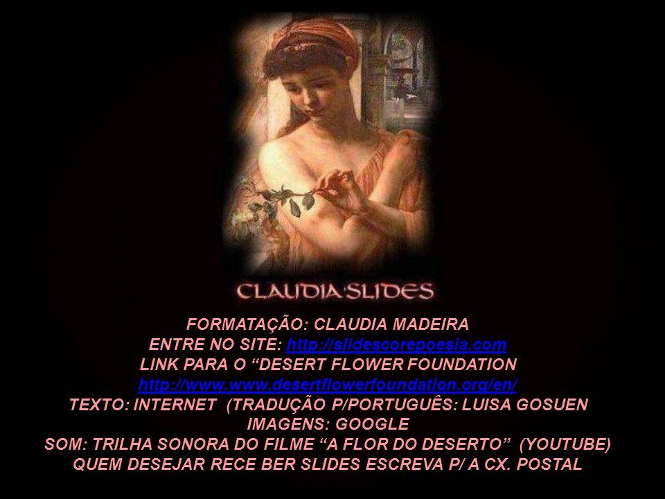 FORMATAÇÃO: CLAUDIA MADEIRA