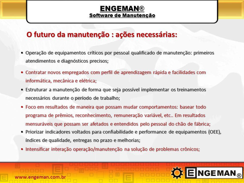 ENGEMAN® Software de Manutenção