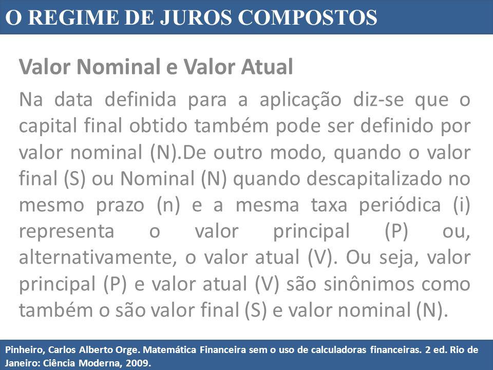 Valor Nominal e Valor Atual