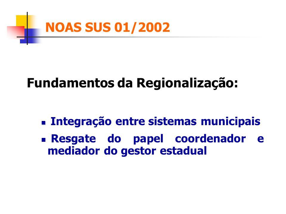 Fundamentos da Regionalização: