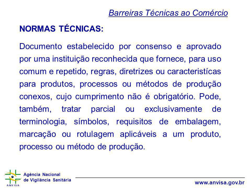 Barreiras Técnicas ao Comércio