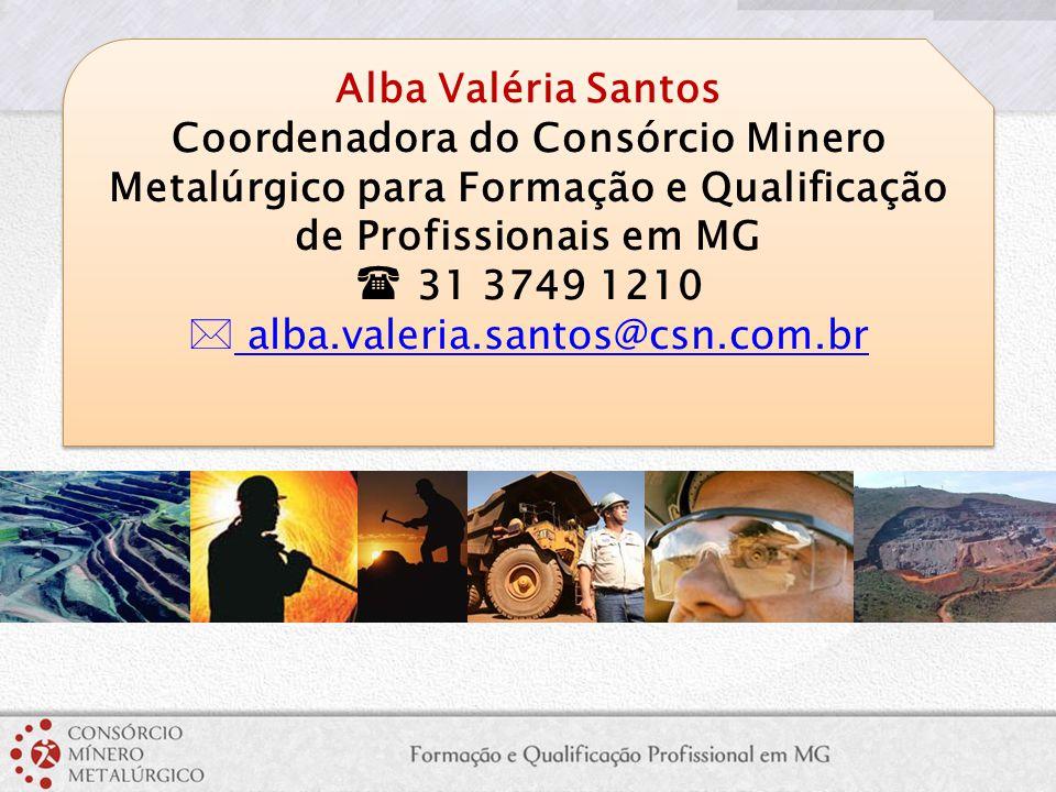 Coordenadora do Consórcio Minero