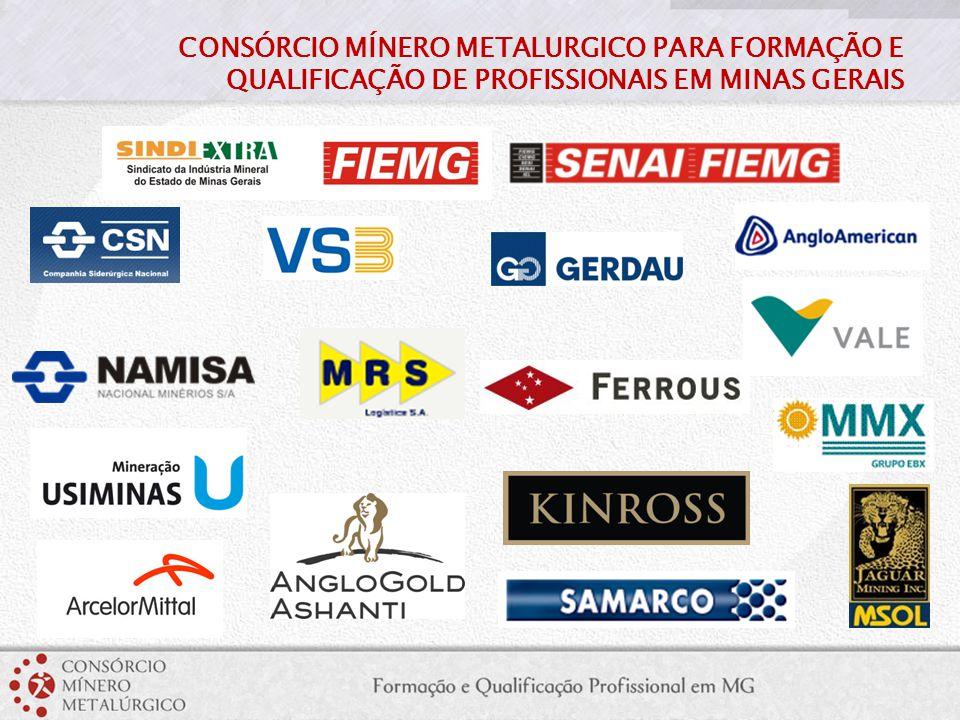 CONSÓRCIO MÍNERO METALURGICO PARA FORMAÇÃO E QUALIFICAÇÃO DE PROFISSIONAIS EM MINAS GERAIS