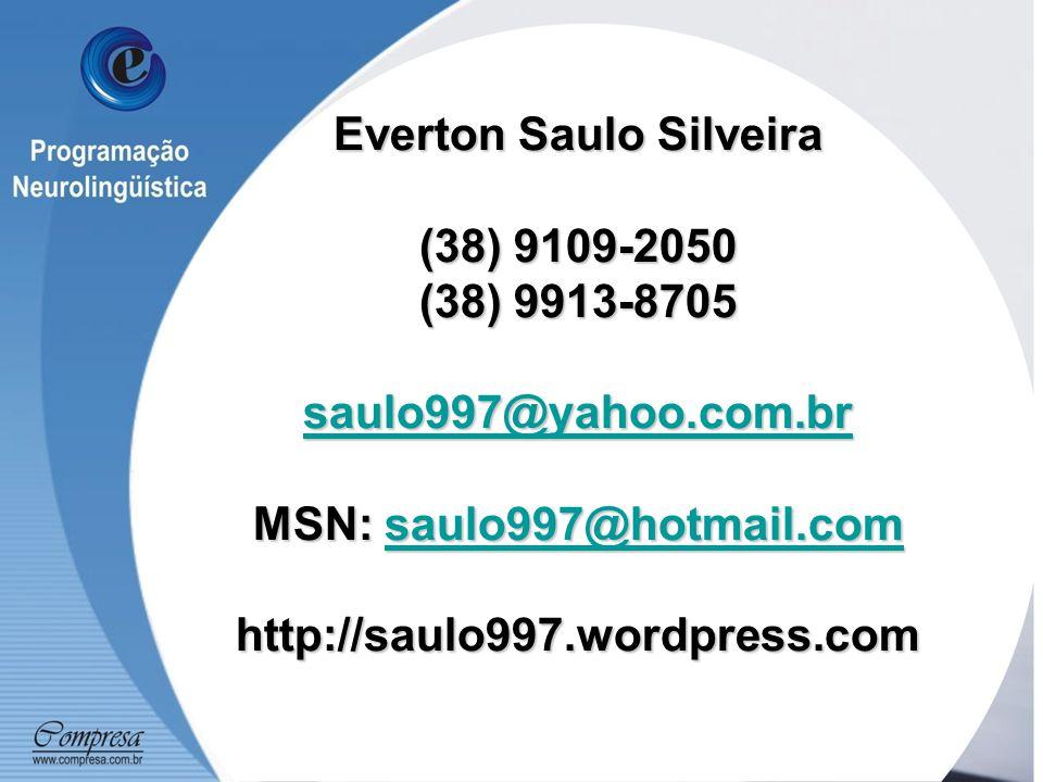 Everton Saulo Silveira (38) 9109-2050 (38) 9913-8705 saulo997@yahoo