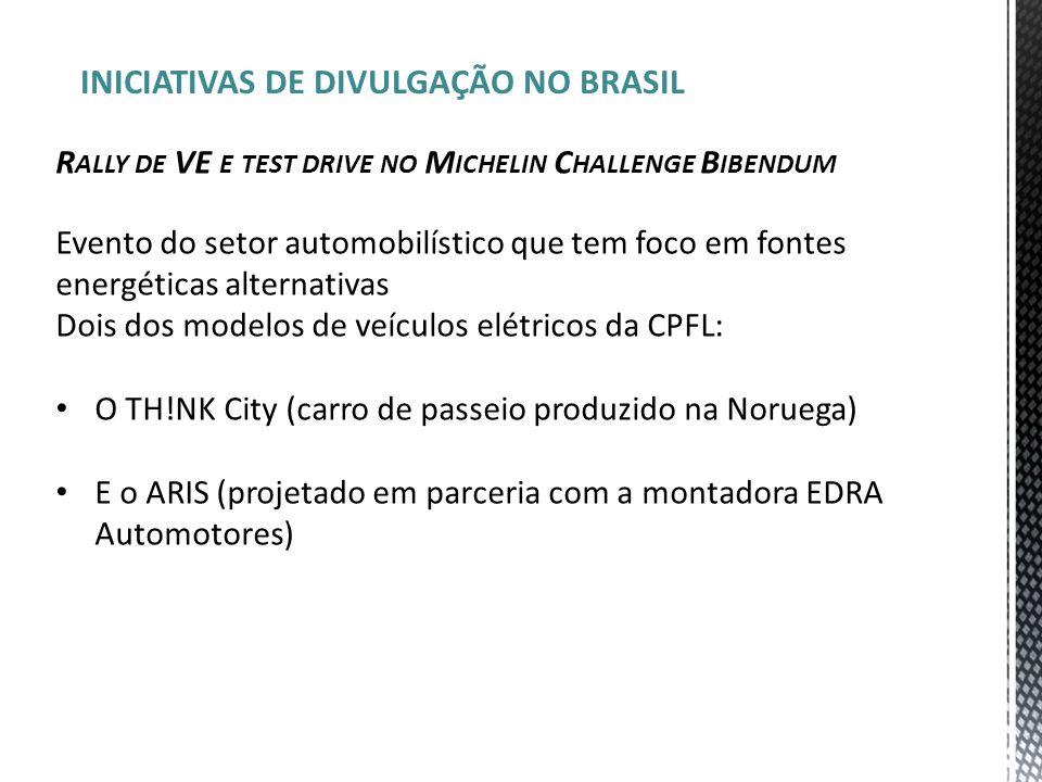 INICIATIVAS DE DIVULGAÇÃO NO BRASIL