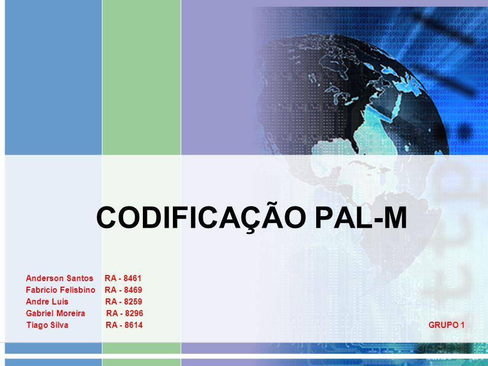 CODIFICAÇÃO PAL-M Anderson Santos RA - 8461