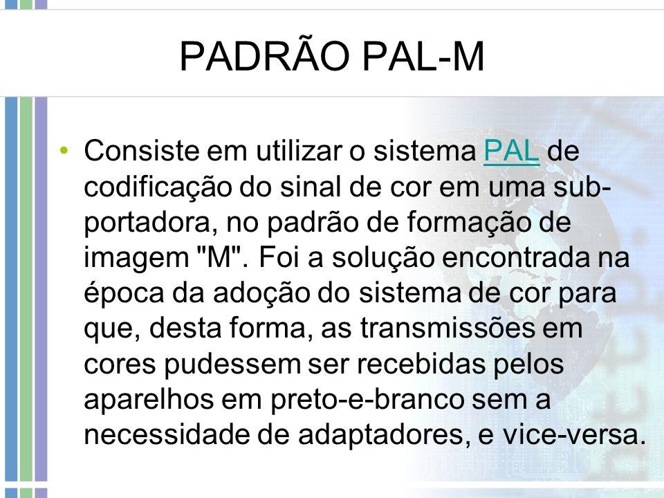 PADRÃO PAL-M