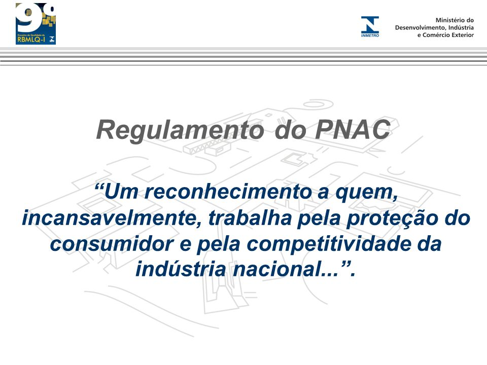 Regulamento do PNAC