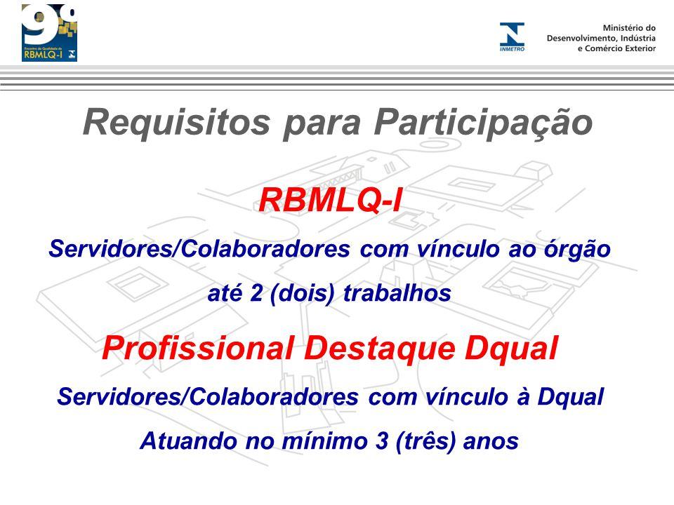 Requisitos para Participação