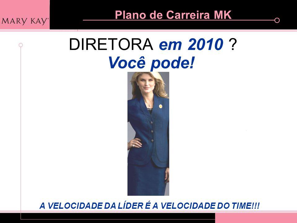 DIRETORA em 2010 Você pode! A VELOCIDADE DA LÍDER É A VELOCIDADE DO TIME!!!