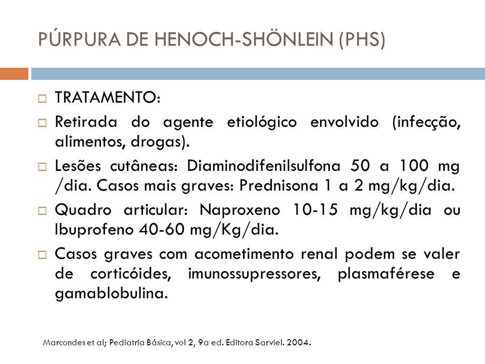 PÚRPURA DE HENOCH-SHÖNLEIN (PHS)