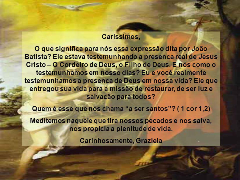 Quem é esse que nos chama a ser santos ( 1 cor 1,2)