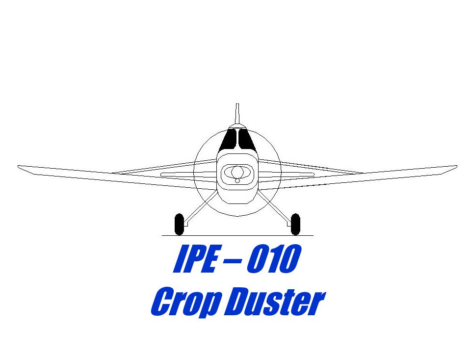 IPE – 010 Crop Duster