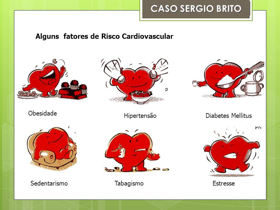 CASO SERGIO BRITO Alguns fatores de Risco Cardiovascular Obesidade