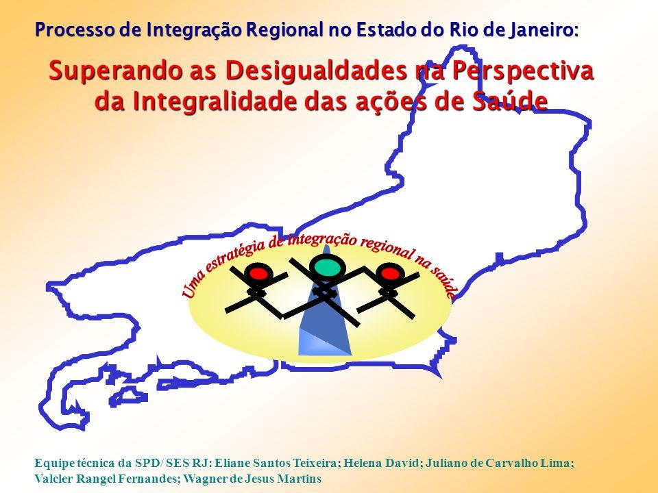 Processo de Integração Regional no Estado do Rio de Janeiro:
