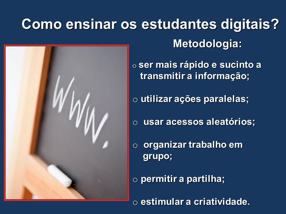 Como ensinar os estudantes digitais