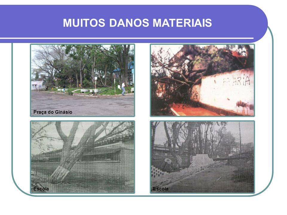 MUITOS DANOS MATERIAIS