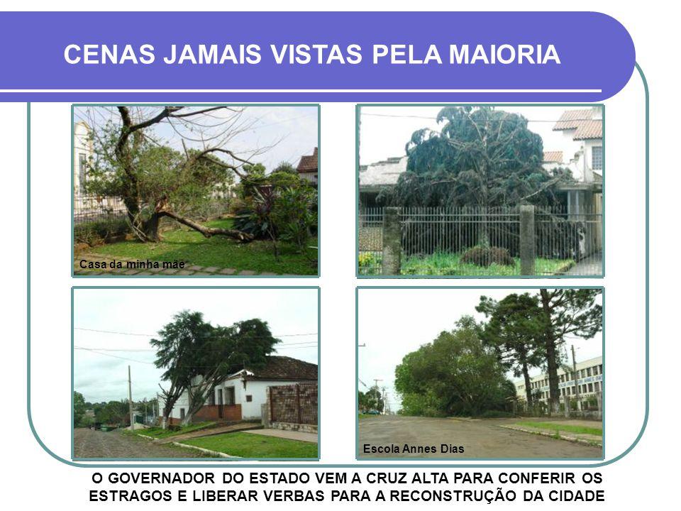 CENAS JAMAIS VISTAS PELA MAIORIA