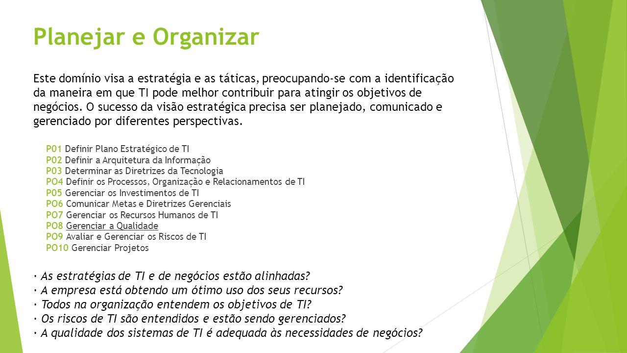 Planejar e Organizar